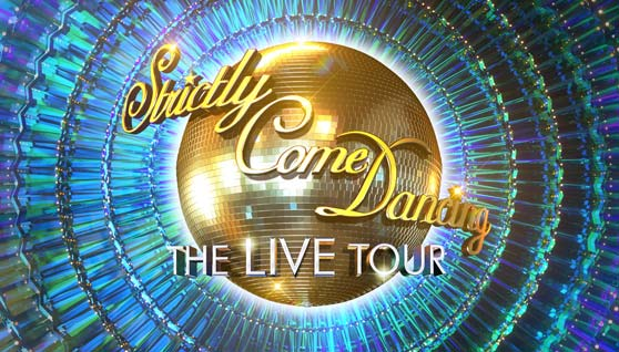Strictly Come Dancing Live! Sticky Logo